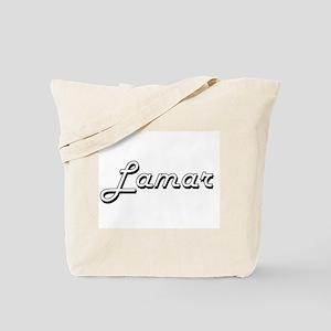 Lamar Classic Style Name Tote Bag