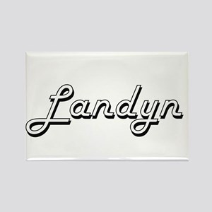Landyn Classic Style Name Magnets