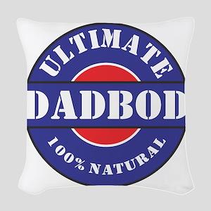 Ultimate DADBOD Woven Throw Pillow