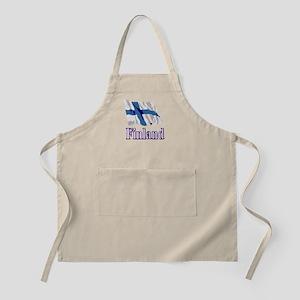 Finland Flag BBQ Apron
