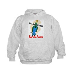 Don't Be A Bottleneck (Front) Hoodie