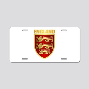 English Royal Arms Aluminum License Plate