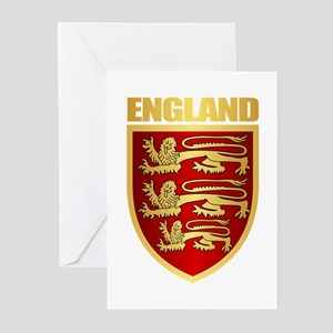 English Royal Arms Greeting Cards