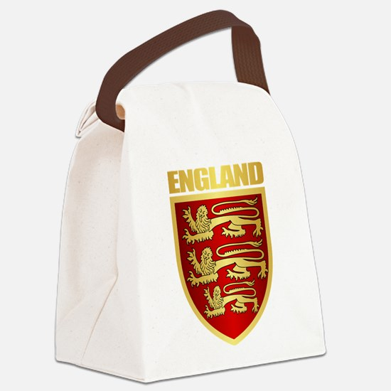 English Royal Arms Canvas Lunch Bag