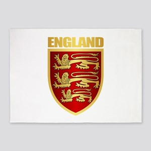 English Royal Arms 5'x7'Area Rug