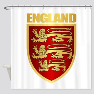 English Royal Arms Shower Curtain