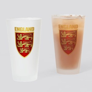English Royal Arms Drinking Glass