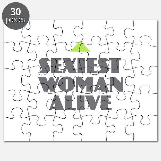 Sexiest Woman Alive Puzzle
