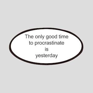 Procrastinate Patch