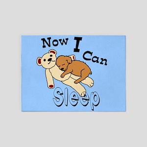 (Pet) Can Sleep Now 5'x7'Area Rug