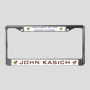 John Kasich for President USA License Plate Frame