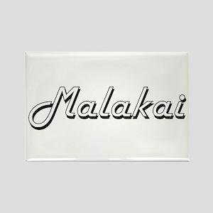 Malakai Classic Style Name Magnets