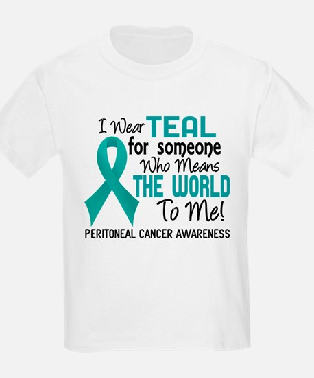 Peritoneal Cancer MeansWorldToM T-Shirt