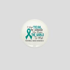 Peritoneal Cancer MeansWorldToMe2 Mini Button