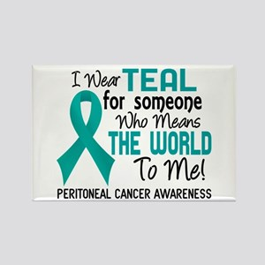 Peritoneal Cancer MeansWorldToMe2 Rectangle Magnet
