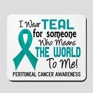 Peritoneal Cancer MeansWorldToMe2 Mousepad