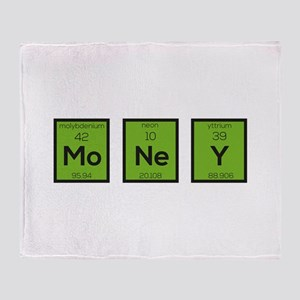 Money Chemical Element Funny C3z08 Throw Blanket