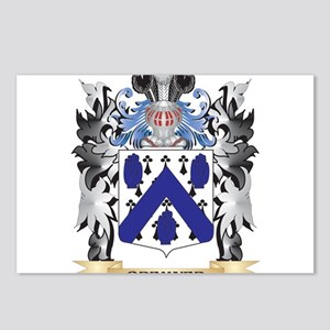 Bremner Coat of Arms - Fa Postcards (Package of 8)