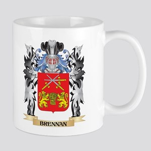 Brennan Coat of Arms - Family Crest Mugs