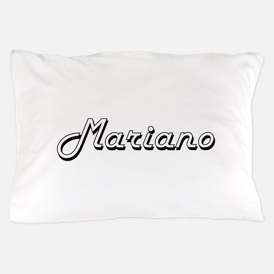 Mariano Classic Style Name Pillow Case
