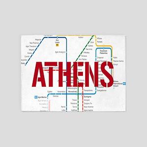 Athens Metro 5'x7'Area Rug