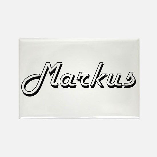 Markus Classic Style Name Magnets