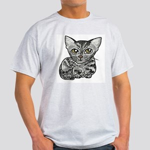 American Shorthair Cat Light T-Shirt