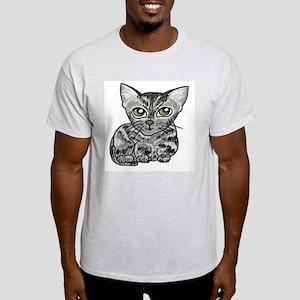 American Shorthair Cat Light T-Shirt