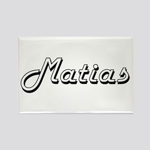 Matias Classic Style Name Magnets