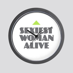 Sexiest Woman Alive Wall Clock