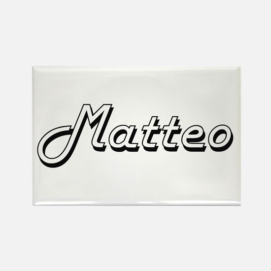 Matteo Classic Style Name Magnets
