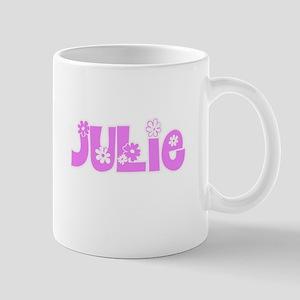 Julie Flower Design Mugs