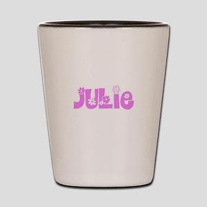 Julie Flower Design Shot Glass