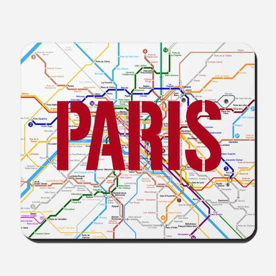 Paris Metro Mousepad