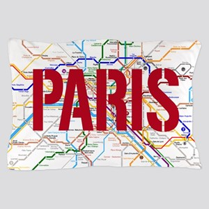 Paris Metro Pillow Case