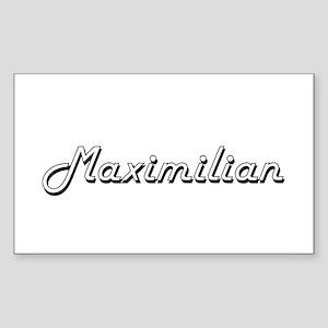Maximilian Classic Style Name Sticker