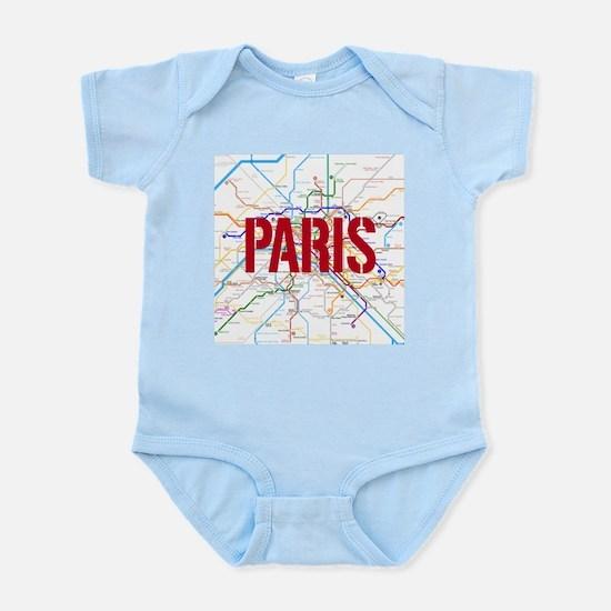 Paris Metro Body Suit