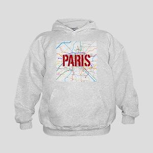 Paris Metro Kids Hoodie