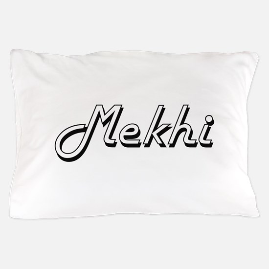 Mekhi Classic Style Name Pillow Case