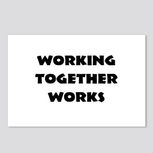 Teamwork inspiration Postcards (Package of 8)