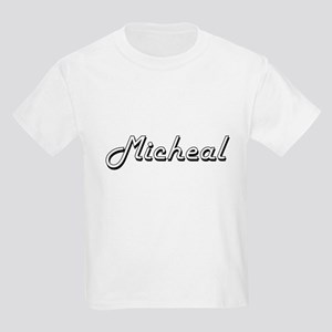 Micheal Classic Style Name T-Shirt