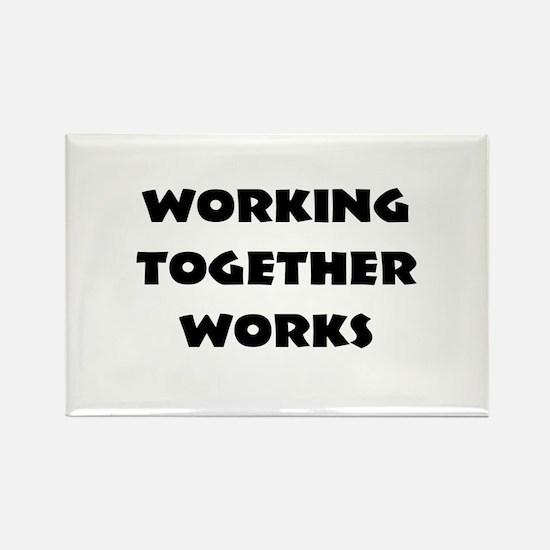 Teamwork inspiration Magnets