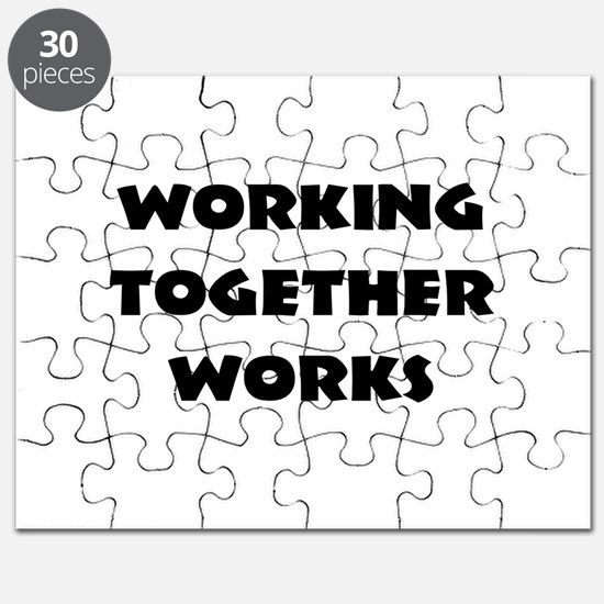 Teamwork inspiration Puzzle