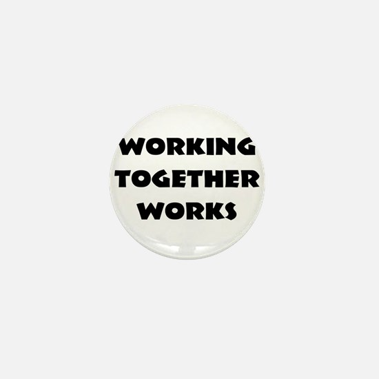 Teamwork inspiration Mini Button