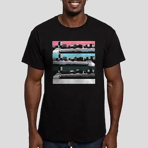 daily-drifter copy Men's Fitted T-Shirt (dark)