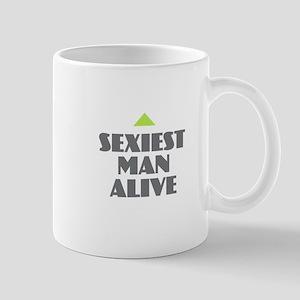 Sexiest Man Alive Mugs