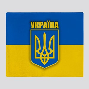 Ukraine 2 Throw Blanket