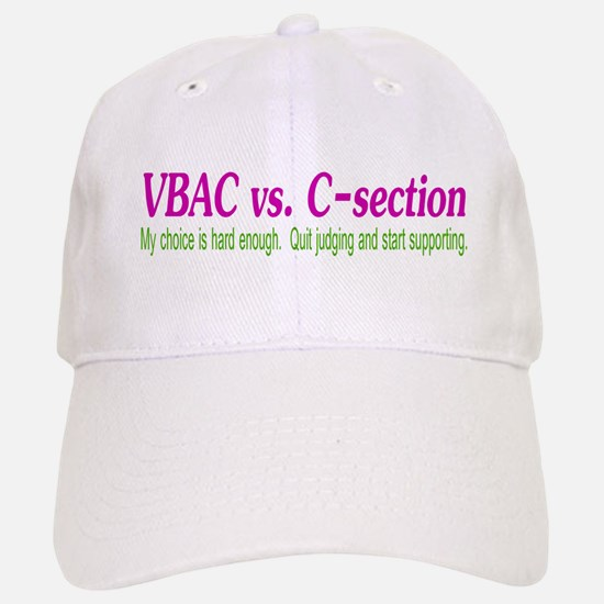 VBAC Hard Enough Baseball Baseball Cap