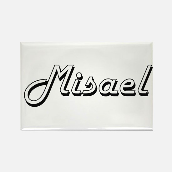Misael Classic Style Name Magnets