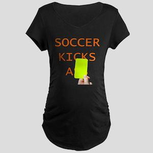 Soccer Kicks YC Maternity T-Shirt